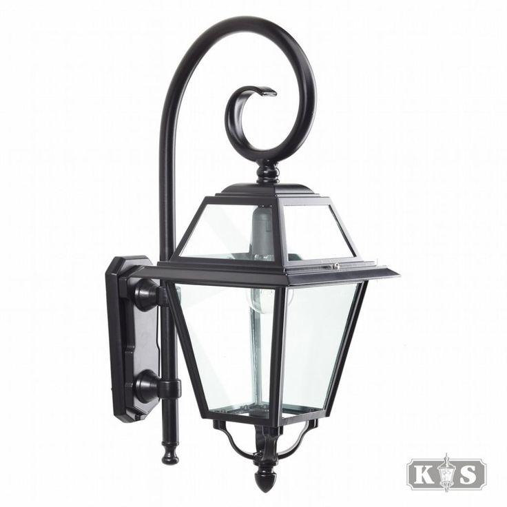 KS | Buitenverlichting | muurlamp | Klassiek landelijk | Buitenlamp Amstelrade S H:60cm