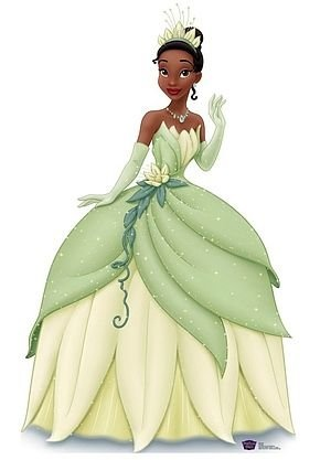Princess Tiana: Bayou beauty is an aspiring chef & entrepreneur seeking to work hard to open a restaurant, but a voodoo spell transforms her into a frog, and she must find her way back to human form. (The Princess & the Frog, 2009, Rom Clements & John Musker. Voiced by Anika Noni Rose)