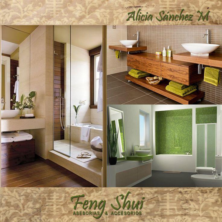 Feng Shui Baño Norte:Los baños en el Norte se deberán curar haciendo uso del elemento