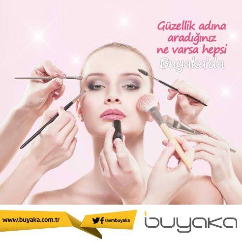 Aradığınız her şey Buyaka'da! #BuYakanınMutluluğuBuyakada #Kozmetik #Güzellik #KişiselBakım