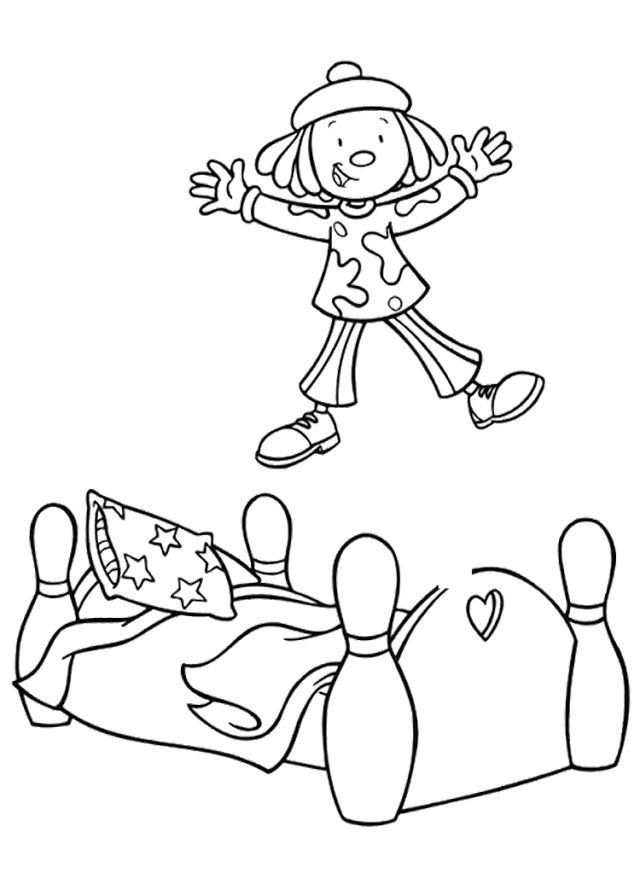 jump coloring pages for kids | Jojo Circus Jump Coloring Pages | Coloring | Coloring ...