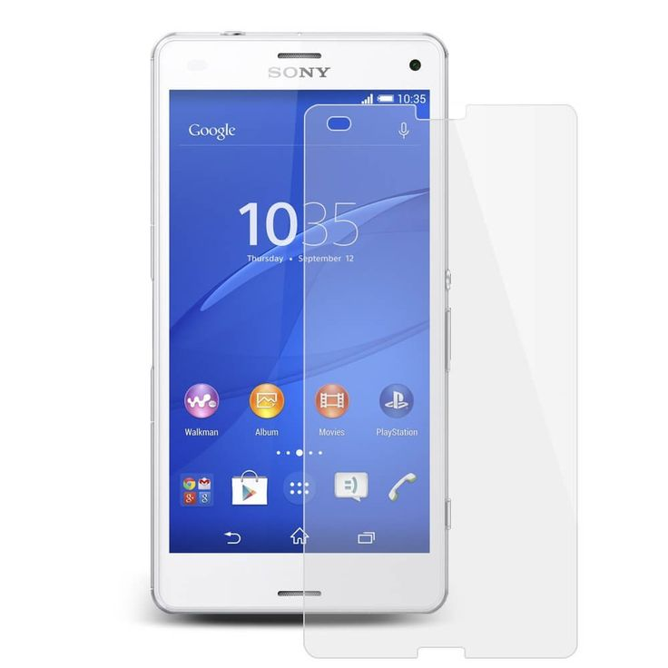 Glass for Sony Xperia Z3 Compact Tempered 9H Screen Protector Film HD Explosion Proof Glass  -  Protect your LCD from damage and scratches with specially chemical processed glass that has been reinforced to increase shock absorbency.