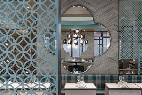 Huayue Court - Shanghai Golucci Interior Architects restaurant - cout extension maison 20m2