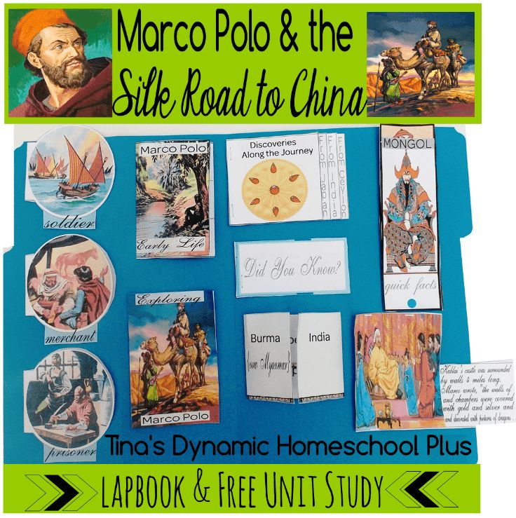free marco polo lapbook and unit study homeschool. Black Bedroom Furniture Sets. Home Design Ideas