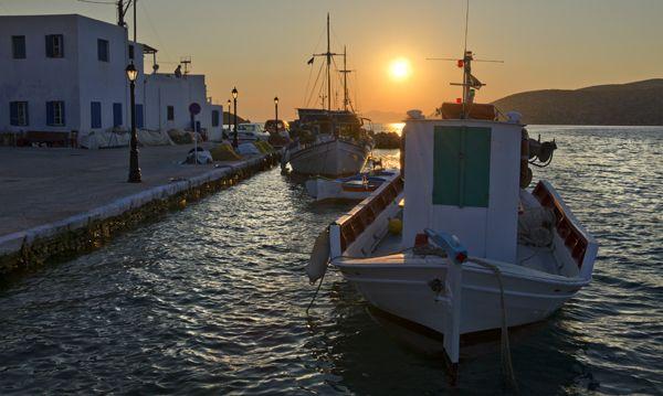 Evening in Katapola