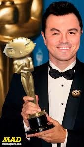 Seth Macfarlane - multitalented entertainer and driving force behind top rated adult toons Family Guy, American Dad and the Cleveland Show