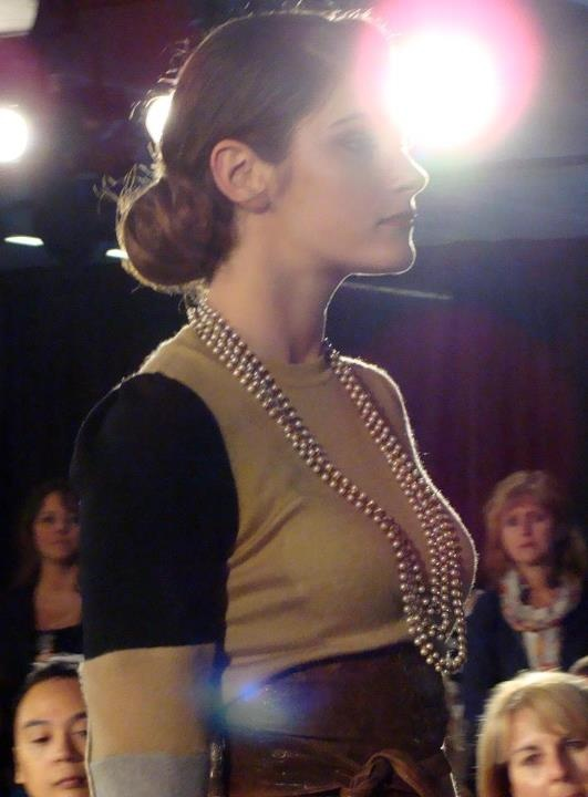"A Runway Image from Vancouver's, ""ECO Fashion Week"""