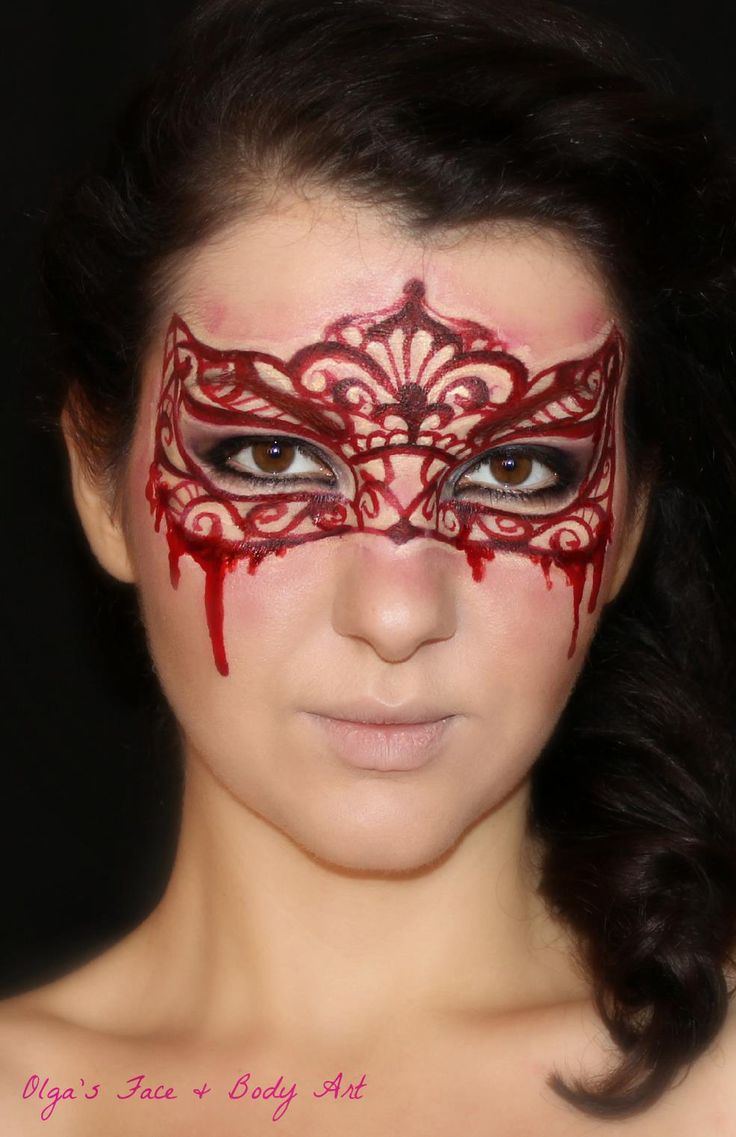 Face painting vampire ideas