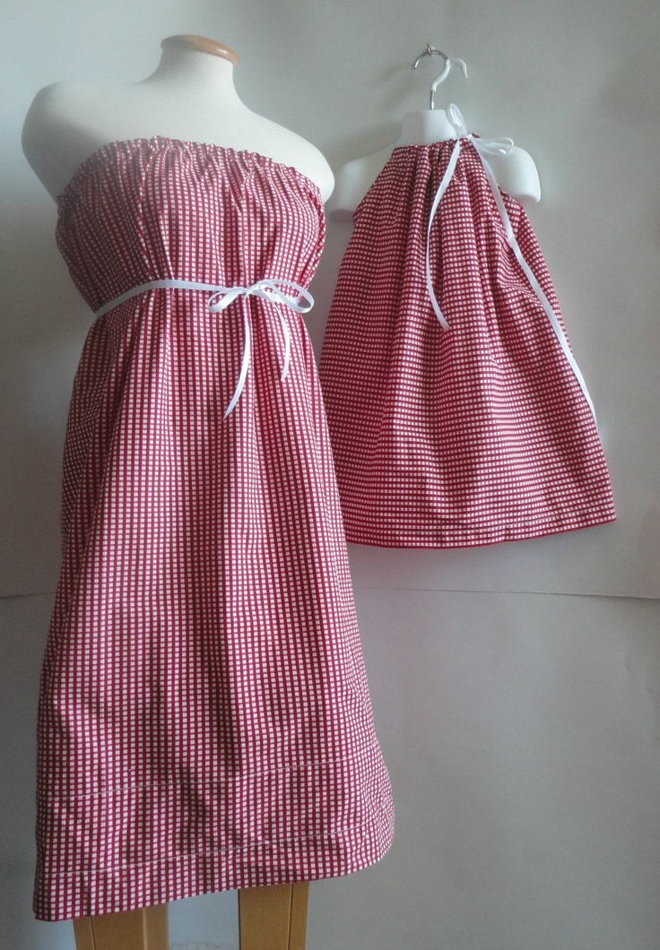 Mommy and ME Dresses. Mommy and Me Matching. Mommy and Me Clothing. Mother & Daughter.  Matching Dresses. Christmas Dresses.. $50.00, via Etsy.