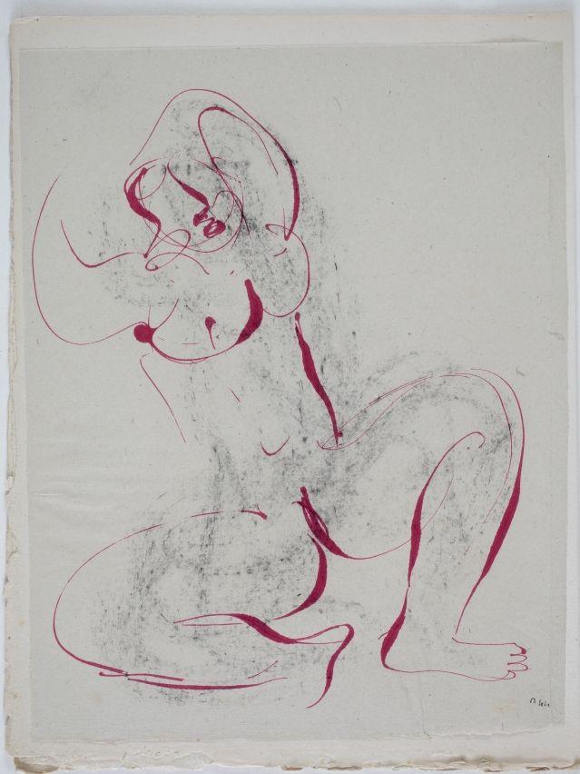 jean fautrier | Jean Fautrier pour l'Alleluiah, 1947© Adam RZERZEPKA