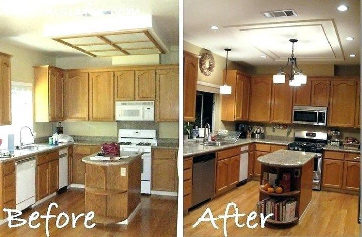 What Will Replace Fluorescent Light Fixture Kitchen Be Like In The Next 8 Years Replace Kitchen Lighting Remodel Fluorescent Kitchen Lights Kitchen Remodel