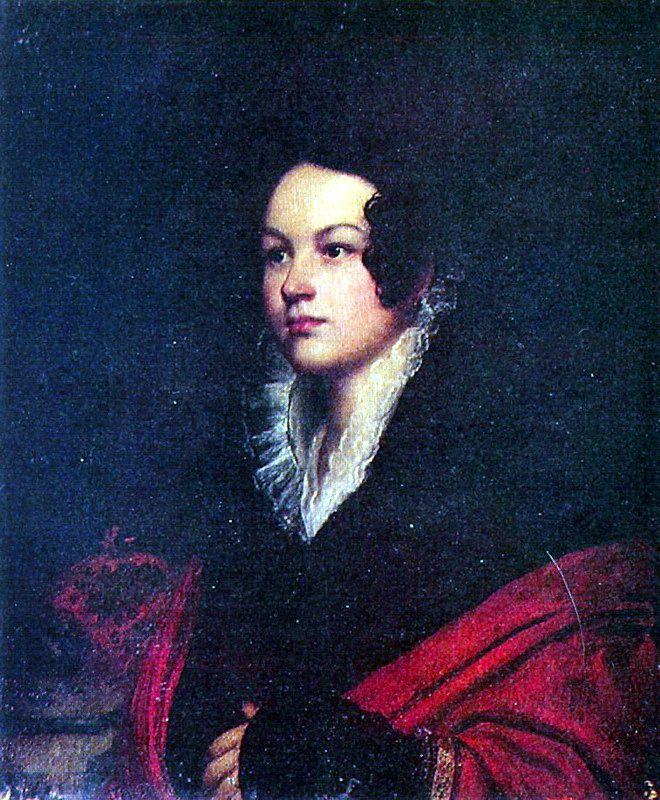 Орест Адамович Кипренский (1782-1836) - Женский портрет, 1816-20, Холст, масло