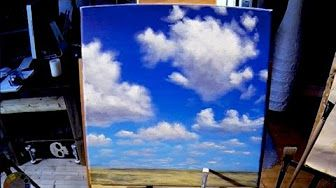 acrylic painting storm clouds - YouTube
