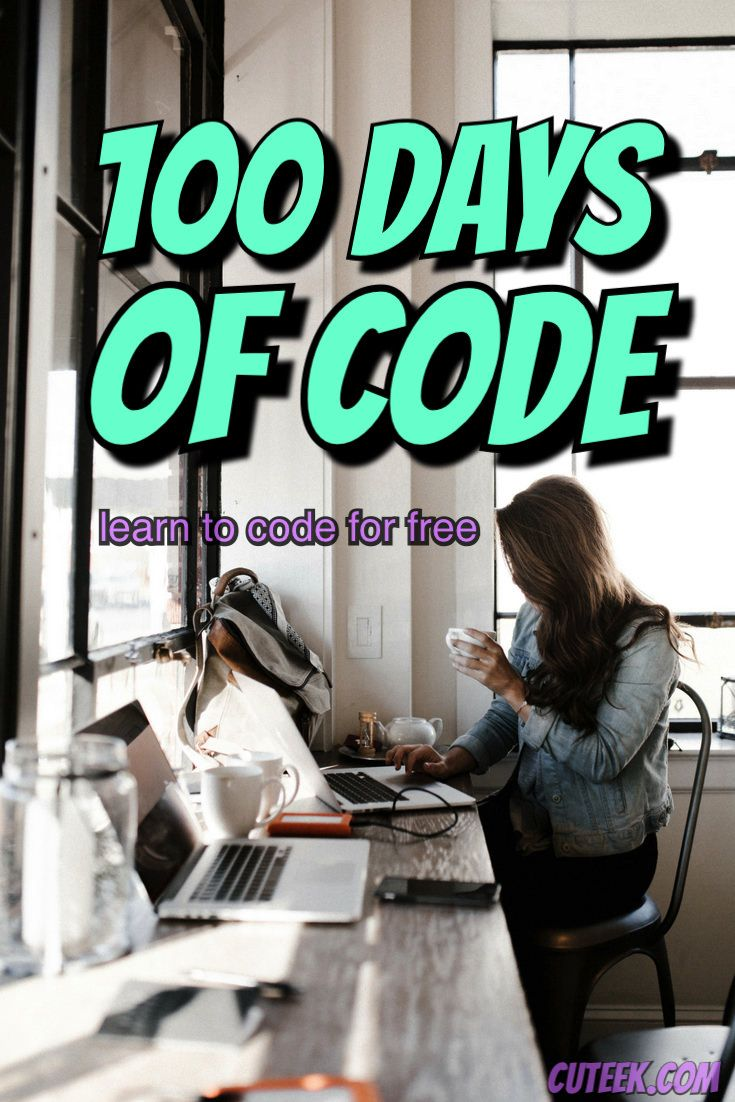 100 Days Of Code Learn Computer Coding Coding Learn Programming