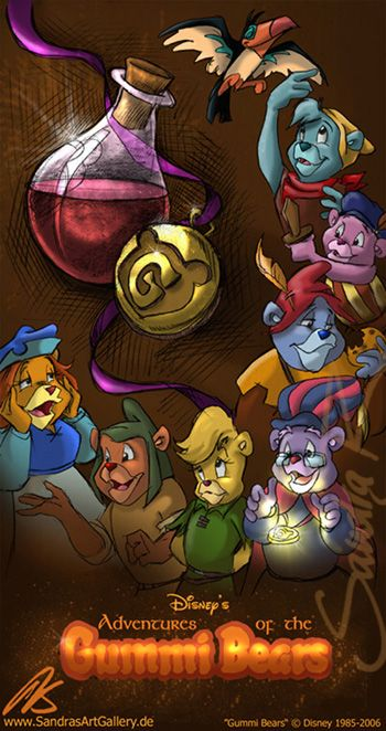 Gummi Bears Poster by ~SplatterPhoenix on deviantART