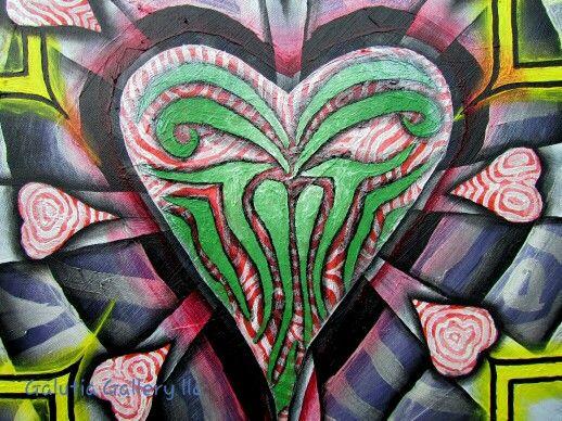 Queen of Hearts detail 1