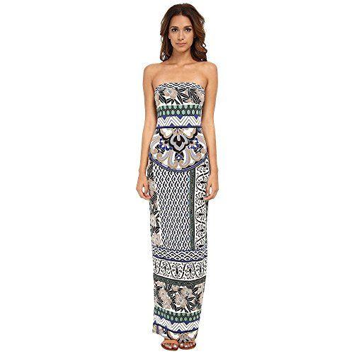 (ヘイルボブ) Hale Bob レディース トップス ワンピース Floral Fusion Tube Maxi Dress 並行輸入品  新品【取り寄せ商品のため、お届けまでに2週間前後かかります。】 表示サイズ表はすべて【参考サイズ】です。ご不明点はお問合せ下さい。 カラー:Blue