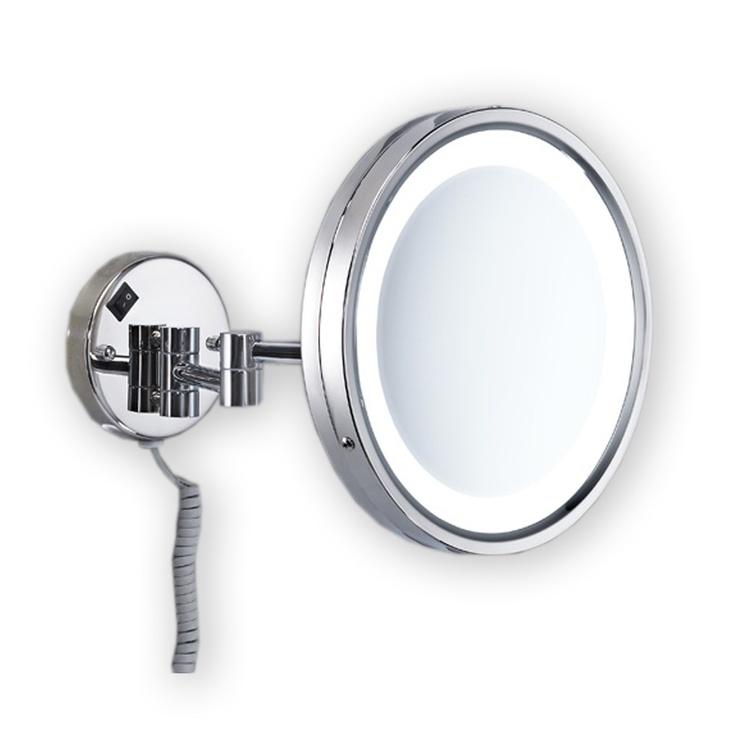 Espejo de aumento gedy vincent con luz hogar decoracion for Espejo de aumento con luz