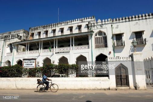Tanzania, Zanzibar island, Zanzibar City, former sultan's palace