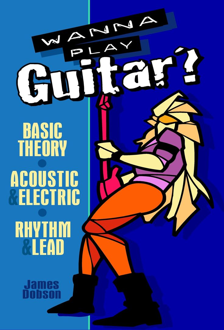 Cover Design for Guitar Tuition Book