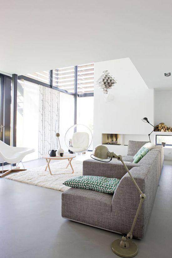 Modulebank voor de grote woonkamer | Wooninspiratie