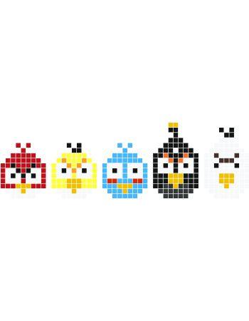 Angry Birds hama perler beads