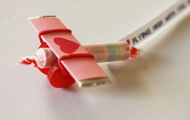 Candy Airplane - Leuke traktatie - ook voor afscheid