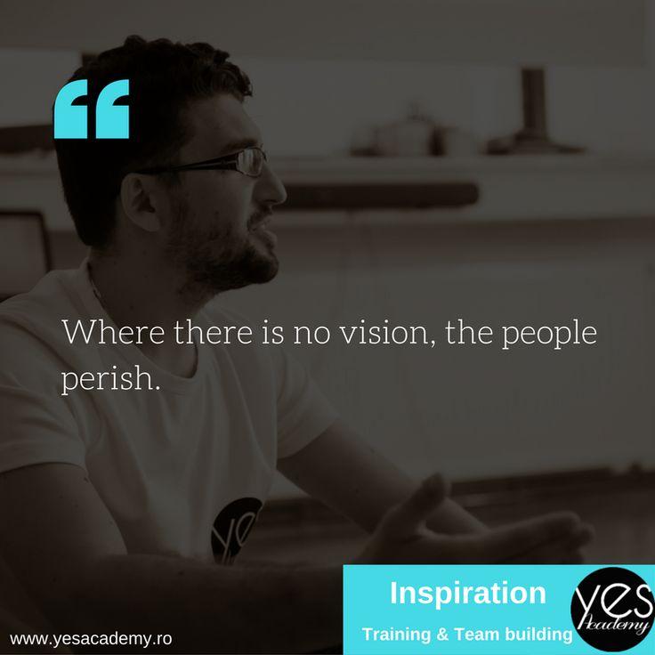 Vision! #leadership #vision #yesacademy #selfleadership #training