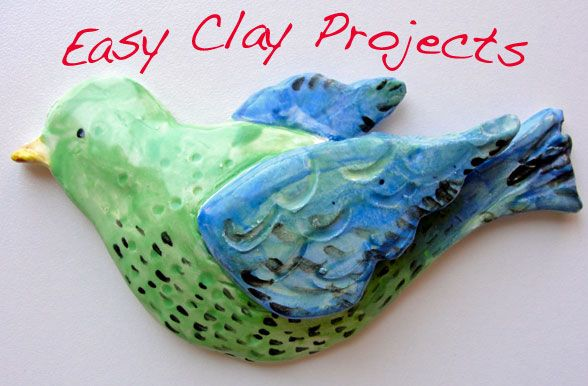 some clay ideas | kid activities | Pinterest