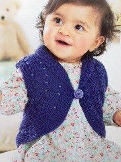 Je tricote -et traduis- en même temps un modèle très sympa, il s'agit d'un petit gilet très particulier à tricoter mais en...