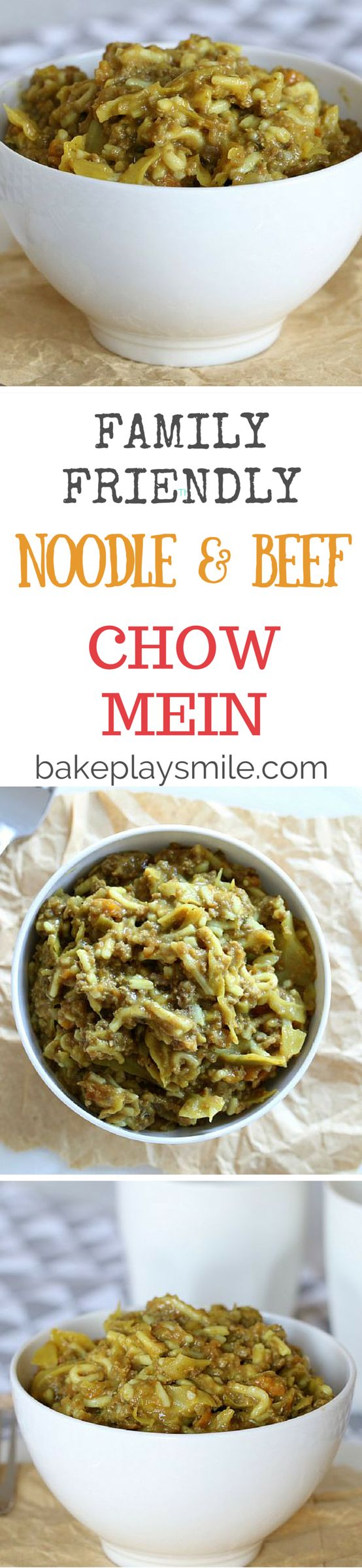 This is one of the most popular budget-friendly recipes on the entire website! It's quick, it's easy and it's really yummy! Who doesn't love Beef Chow Mein with Noodles? #easy #dinner #recipe #budget #chow #mein