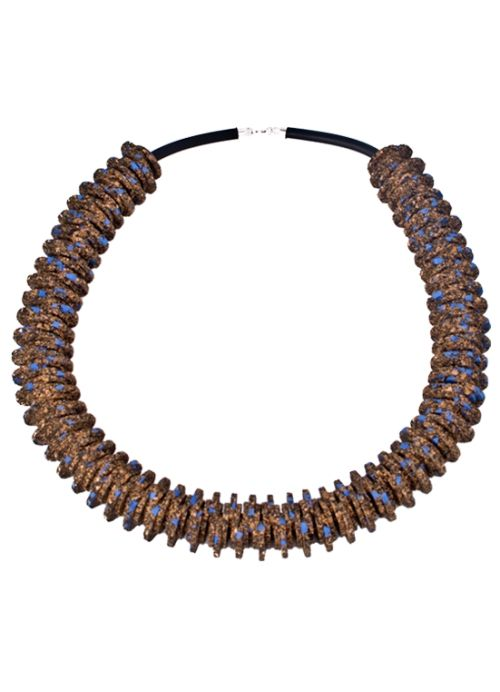 Triffle Cork Necklace . Portuguese Independent Brand of Contemporary Jewellery
