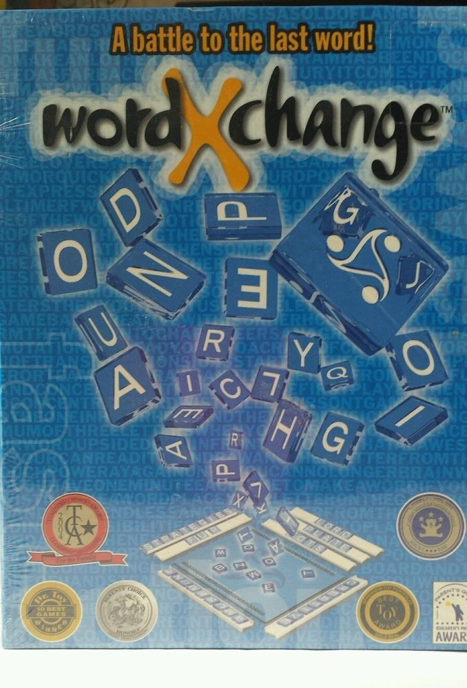 New Prodijeux Inc. Word-X-Change Award Winning Anagram Game Sealed | Toys & Hobbies, Games, Board & Traditional Games | eBay!