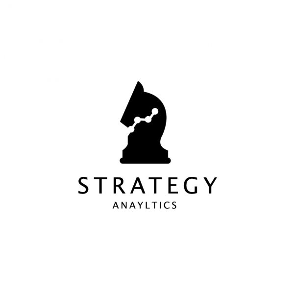 Strategy Analytics Chess Knight Logo – SOLD | Logo Cowboy                                                                                                                                                                                 Más