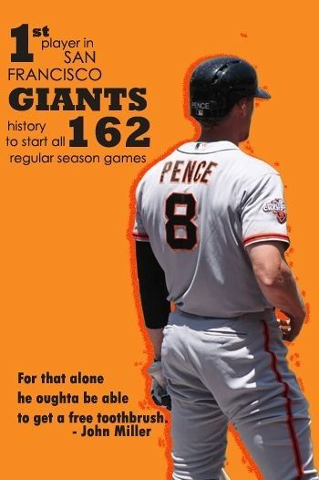Hunter Pence - SF GIANTS