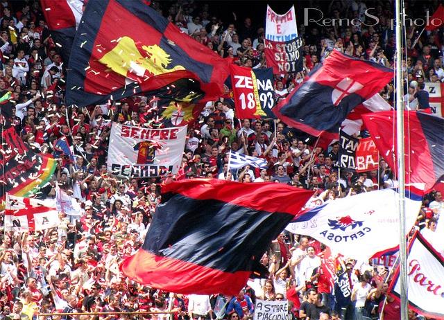 Genoa fans: Animation, Calcio Serie, Genoa Fans, Soccer