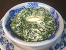 Ruth's Chris Steak House Creamed Spinach Copycat Recipe.  I served this with prime rib tonight. It is FANTASTIC!