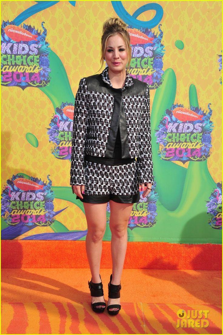 Kaley Cuoco Makes a 'Big Bang' at Kids' Choice Awards 2014 | 2014 Kids Choice Awards, Kaley Cuoco Photos | Just Jared