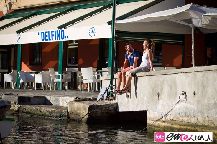 Engagement shooting in Portofino on the awesome. Italian Riviera