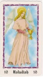 Ángeles Shariel: El ángel del día 10 de Junio : HALADIAH