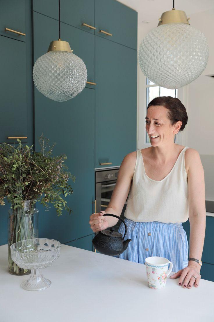 La maison néo art déco de Mylène Kiener, co-directrice de Frangin Frangine //…