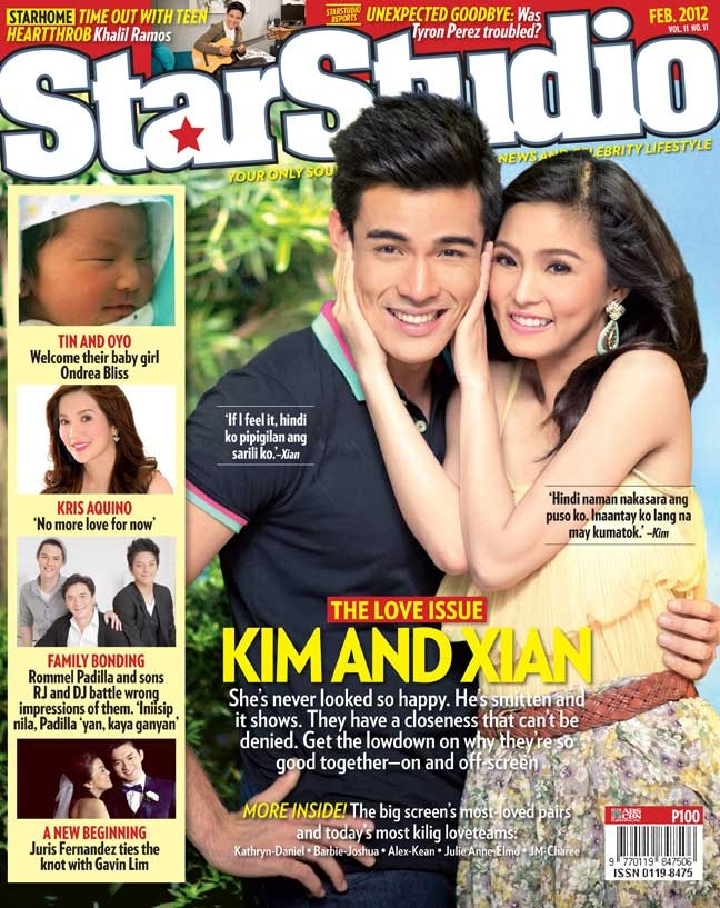 What Xian gave Kim for Valentine's