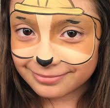 Image result for paw patrol face paint skye