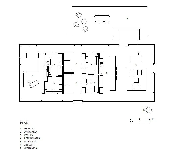 LM Guest House floor plans