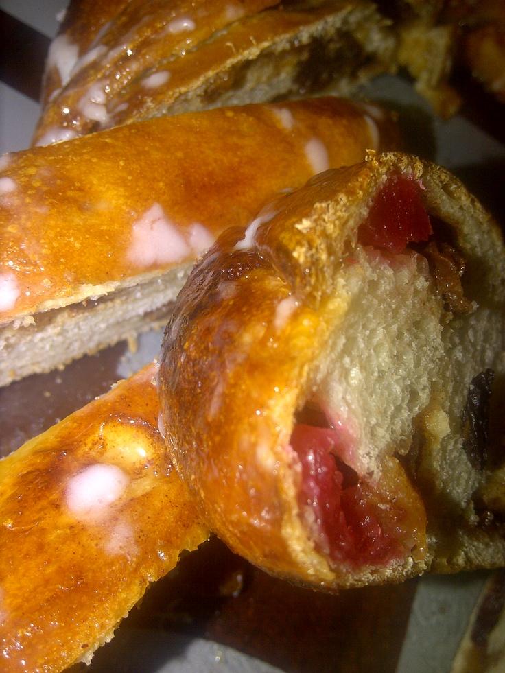 Apple Soaked Fruit Bread