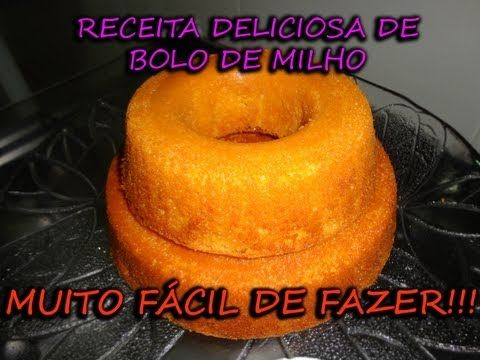 BOLO DE PAMONHA - YouTube