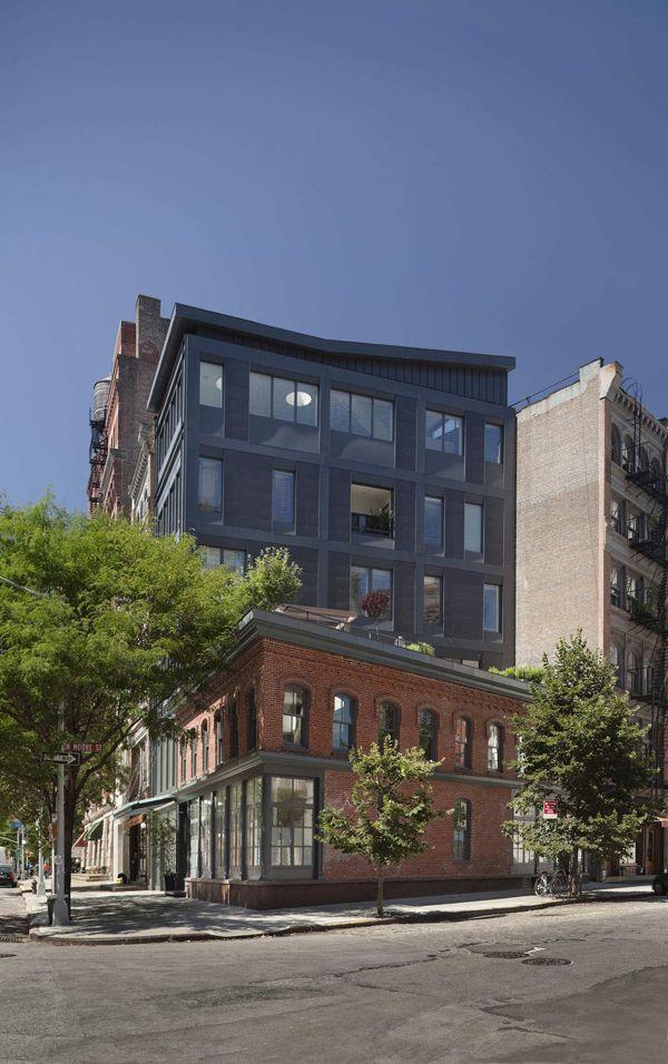 Elegant Striking Six Storey Townhouse In Tribeca, NYC By Turett Collaborative  Architects