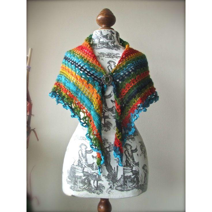 72 best Prayer Shawls images on Pinterest | Crochet scarves, Crochet ...