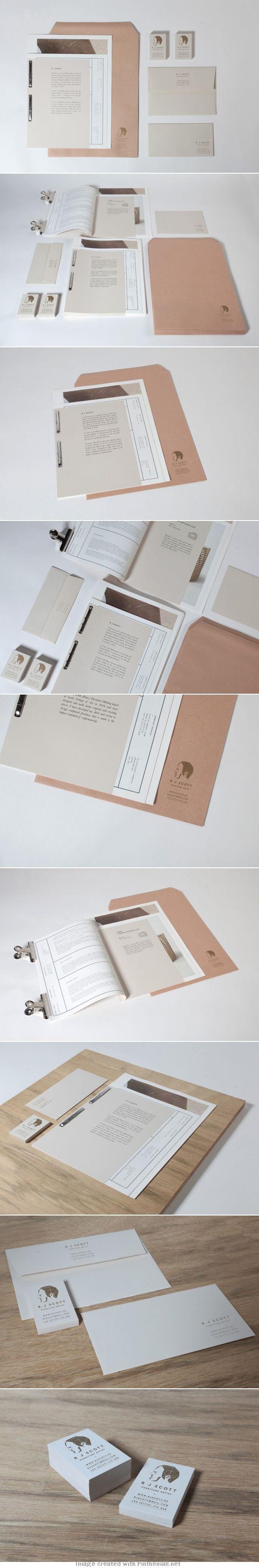 Corporate design letterhead letter business card logo envelop colors graphic minimal stamp binder paper