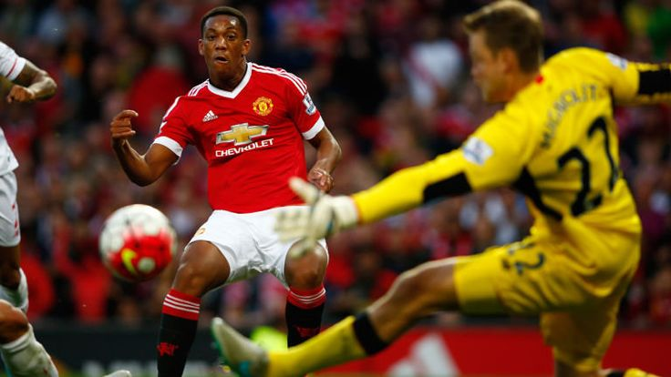 Anthony Martial's debut goal for Manchester United against Liverpool - http://footballersfanpage.co.uk/anthony-martials-debut-goal-for-manchester-united-against-liverpool/